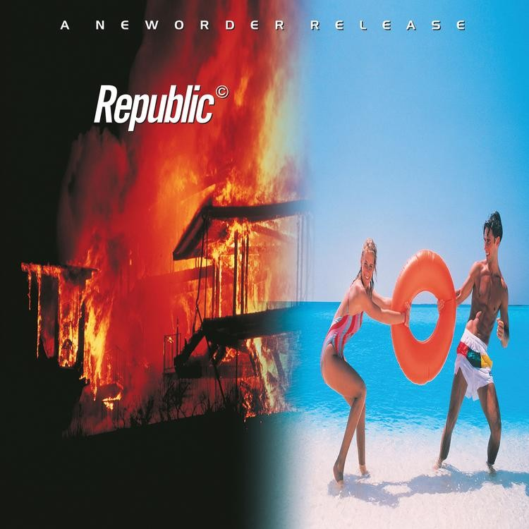 New Order - Republic LP