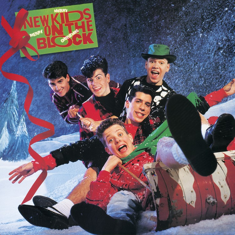 New Kids on the Block - Merry, Merry Christmas (Limited Green) Vinyl LP