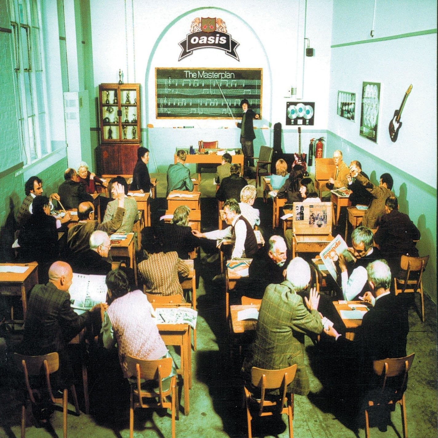 Oasis - The Masterplan 2XLP