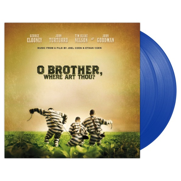 Various Artists -O Brother Where Art Thou (Blue) 2XLP Vinyl