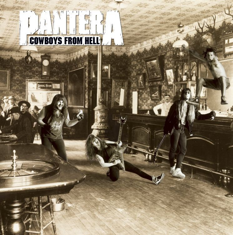 Pantera - Cowboys From Hell 2XLP