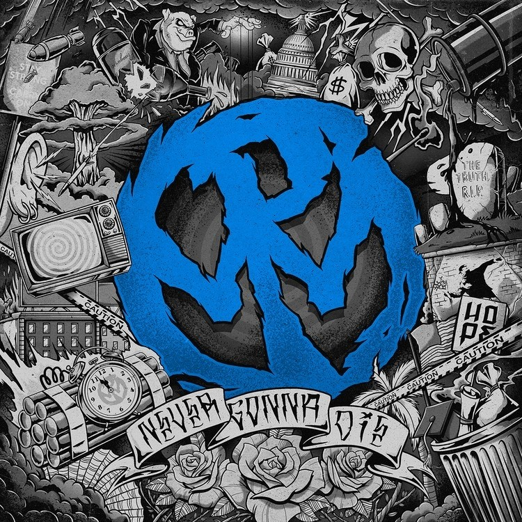 Pennywise - Never Gonna Die (Blue) Vinyl LP