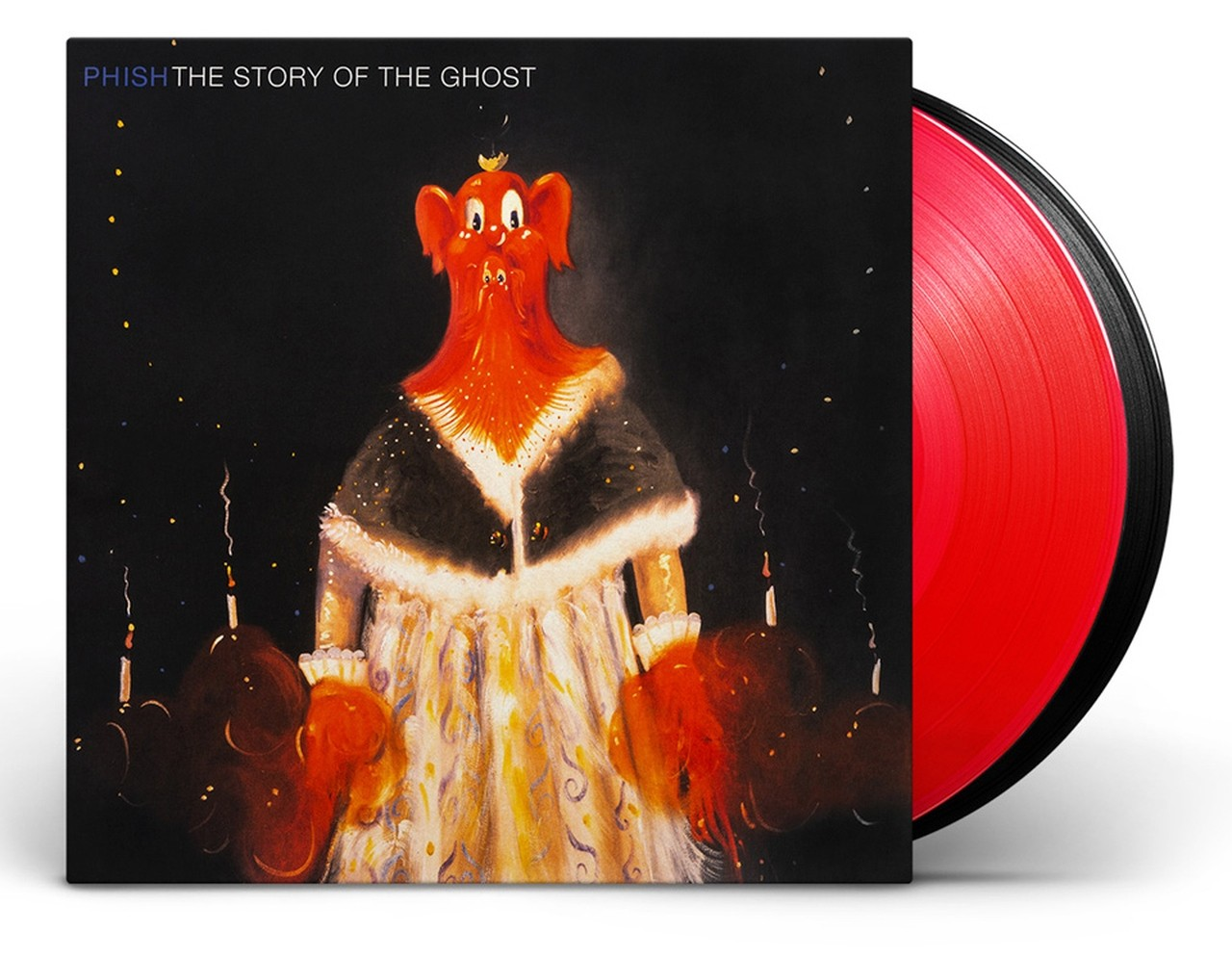 Phish - The Story of The Ghost (Red/Black) 2XLP Vinyl