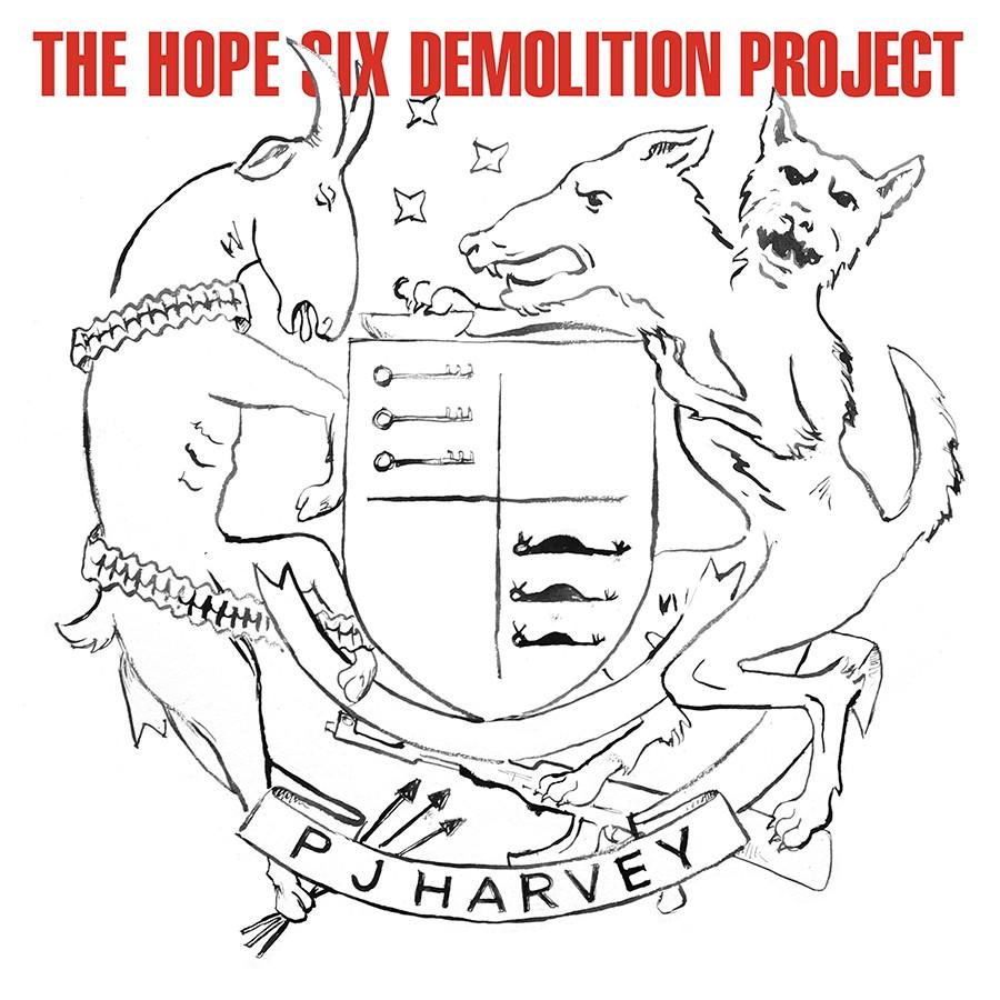 PJ Harvey - The Hope Six Demo LP
