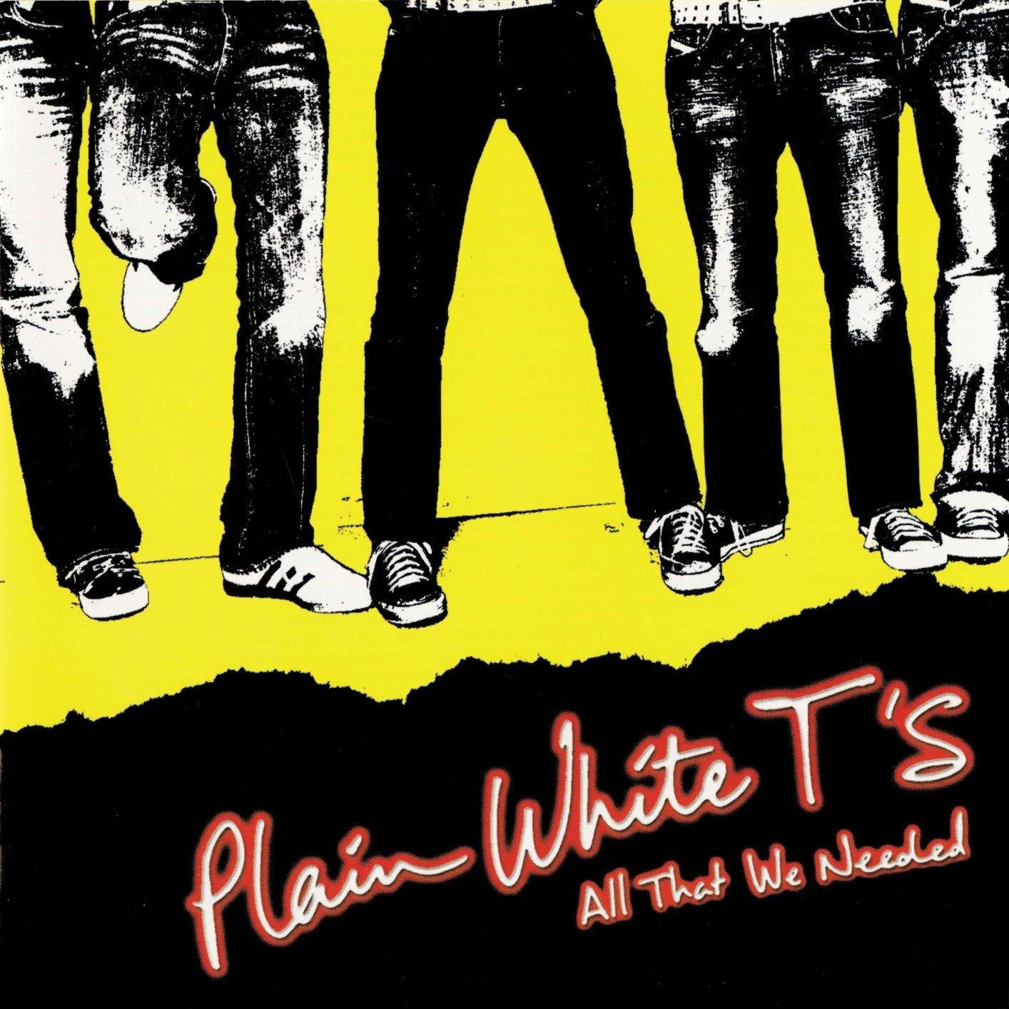 Plain White T's - All That We Needed (Red) Vinyl LP