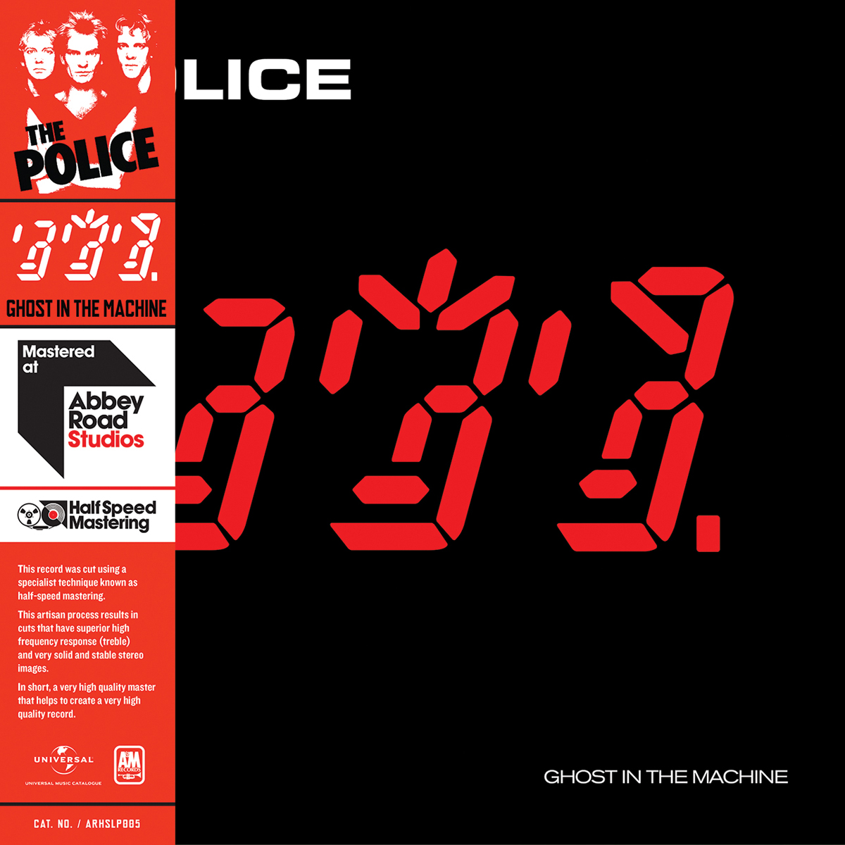 Police - Ghost in the Machine Vinyl LP