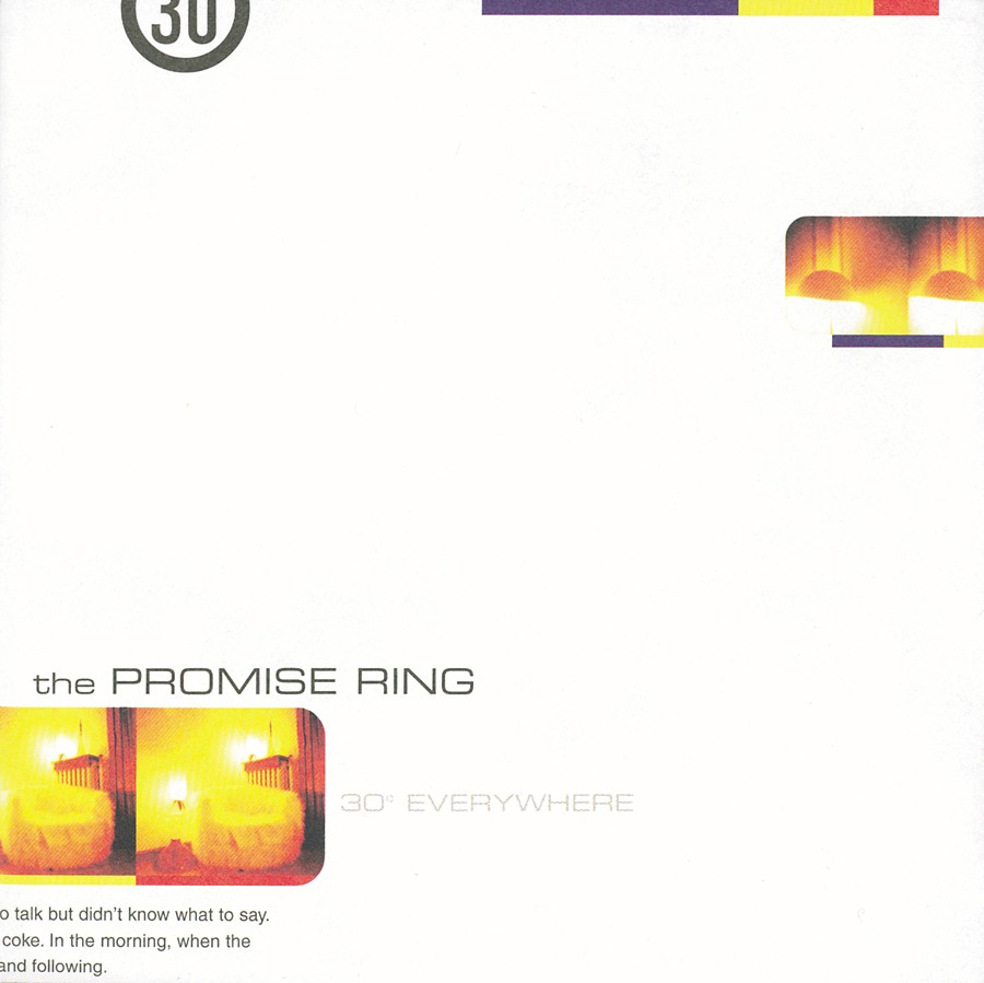 The Promise Ring - 30 Degrees Everywhere Clear Vinyl LP
