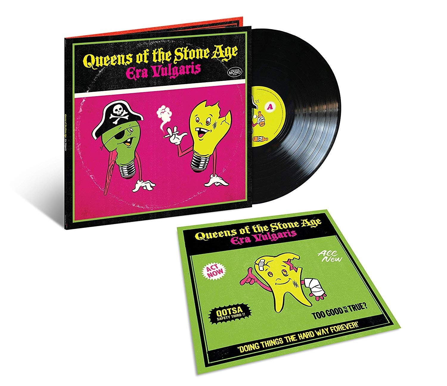 Queens of the Stone Age - Era Vulgaris Vinyl LP