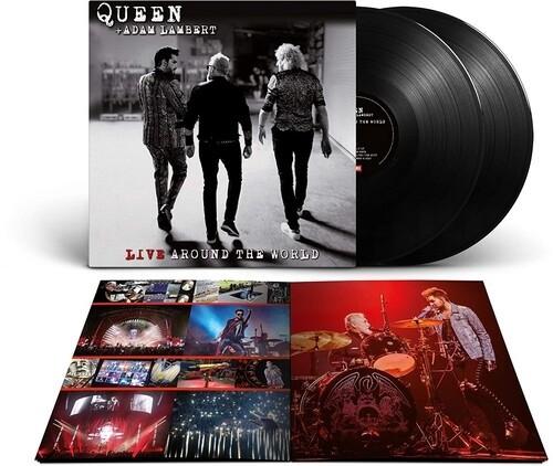 Queen & Adam Lambert - Live Around The World 2XLP Vinyl