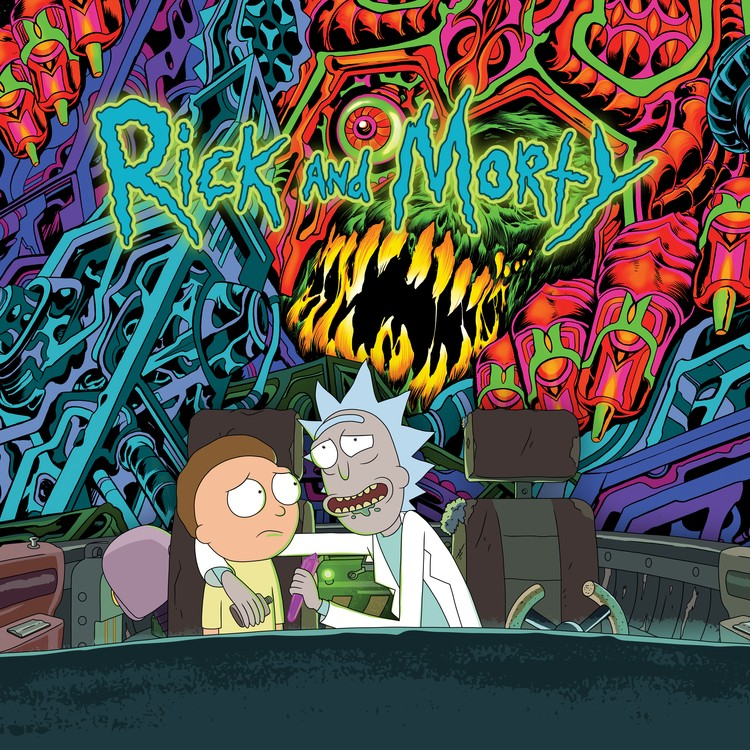 Rick and Morty - The Rick And Morty Soundtrack 2XLP Vinyl