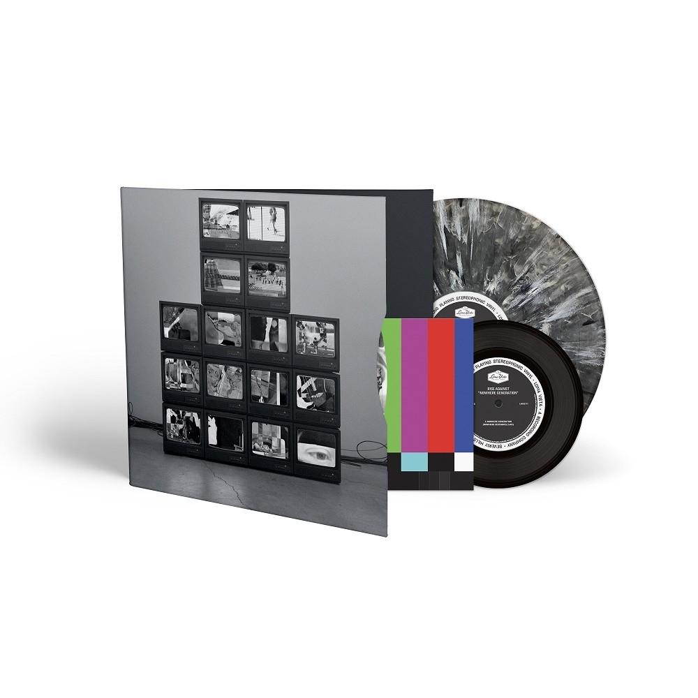 "of album standouts ""Nowhere Generation"" + ""Broken Dreams, Inc"". Black & White Smoke LP."
