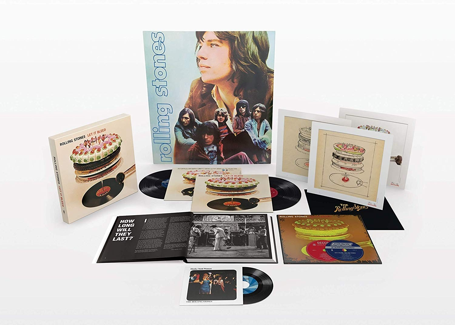 The Rolling Stones - Let It Bleed Deluxe (50th Anniversary) Boxset