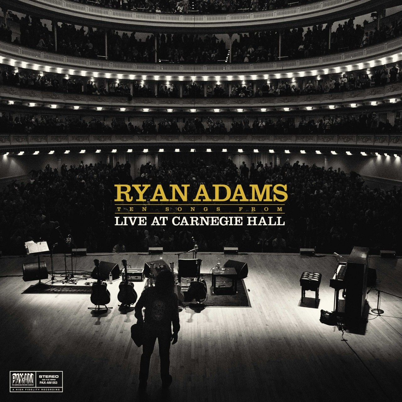 Ryan Adams - Ten Songs From Live At Carnegie Hall LP