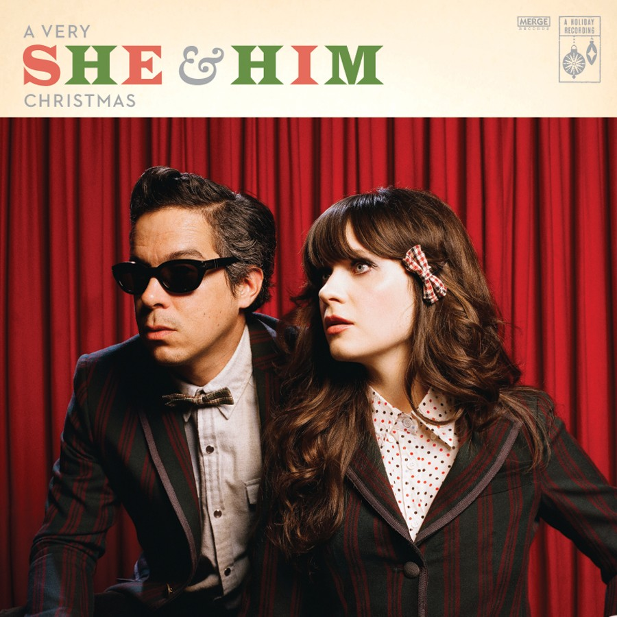 She & Him - A Very She & Him Christmas LP