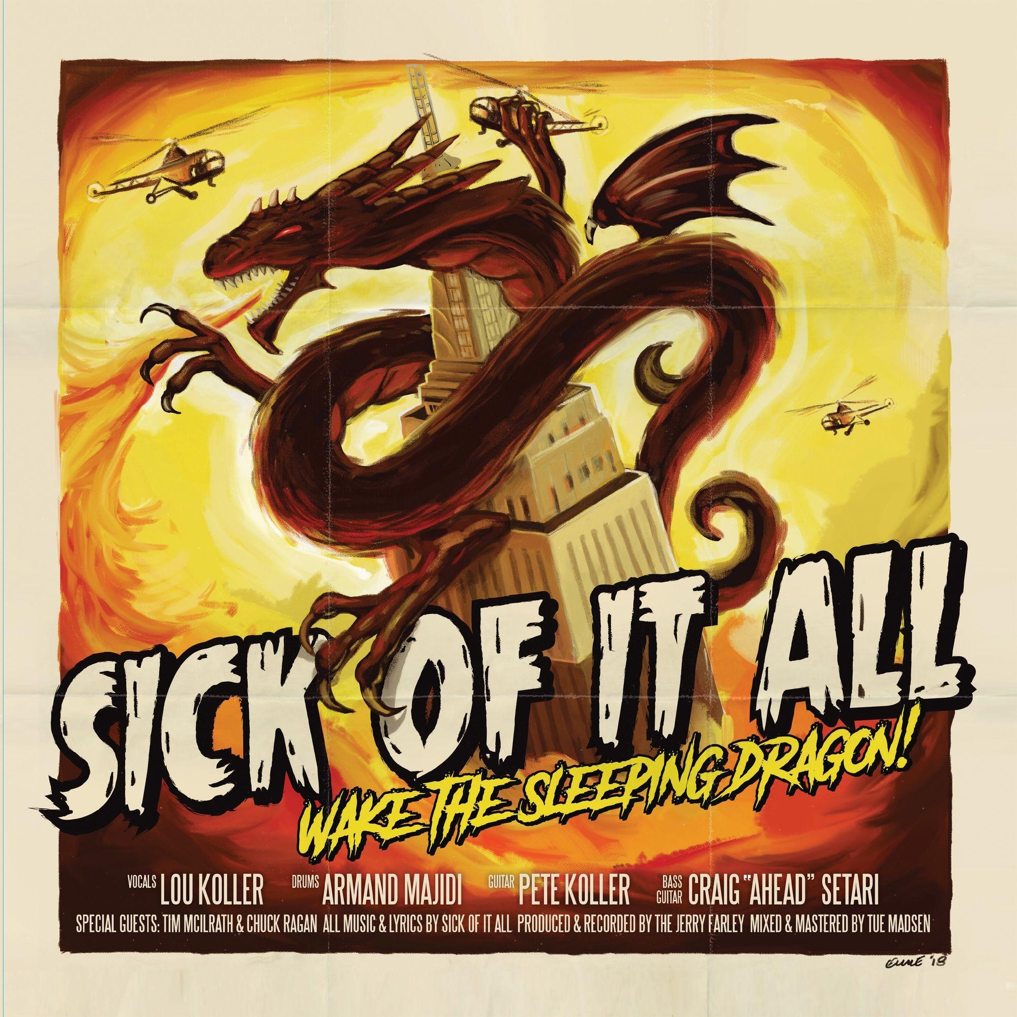 Sick Of It All - Wake the Sleeping Dragon! Vinyl LP
