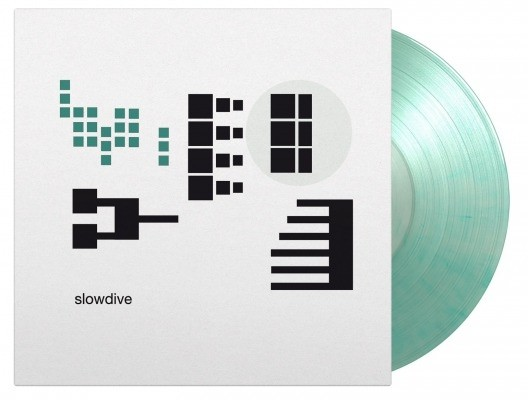Slowdive - Pygmalion Coke Bottle Marble Green 25th Anniversary vinyl