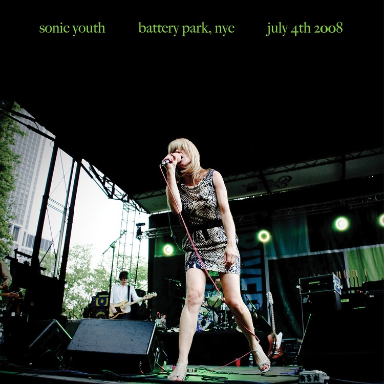 Sonic Youth - Battery Park, NYC: July 4th 2008 Vinyl LP