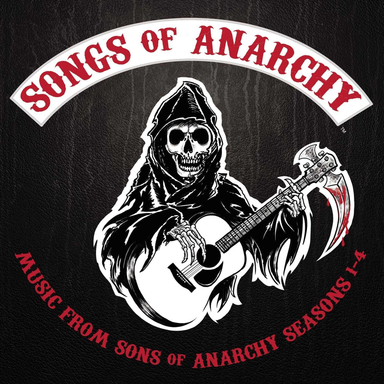 Soundtrack -  Sons Of Anarchy : Songs Of Anarchy  Music From Sons Of Anarchy Seasons 1-4 2XLP