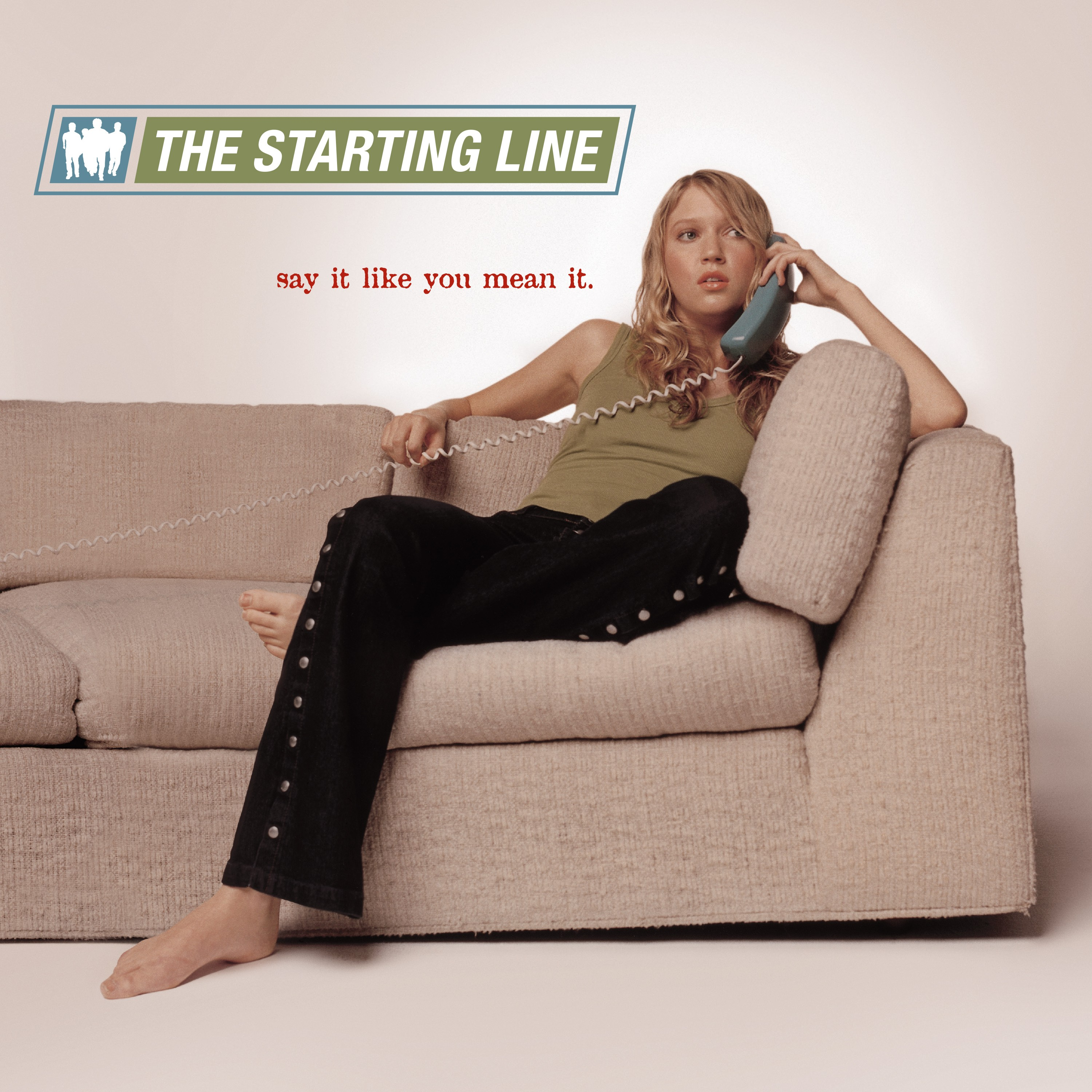 The Starting Line - Say It Like You Mean It (Blue/Green Haze) 2XLP