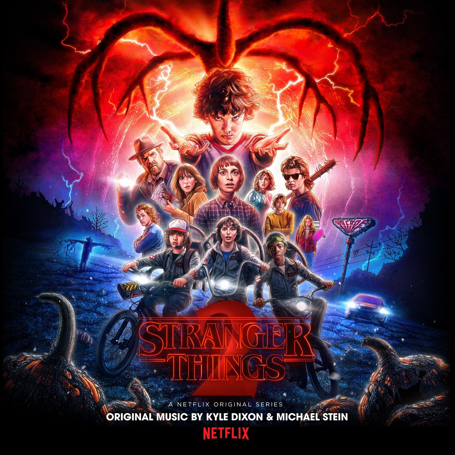 Kyle Dixon & Michael Stein - Stranger Things 2 Soundtrack 2XLP Vinyl