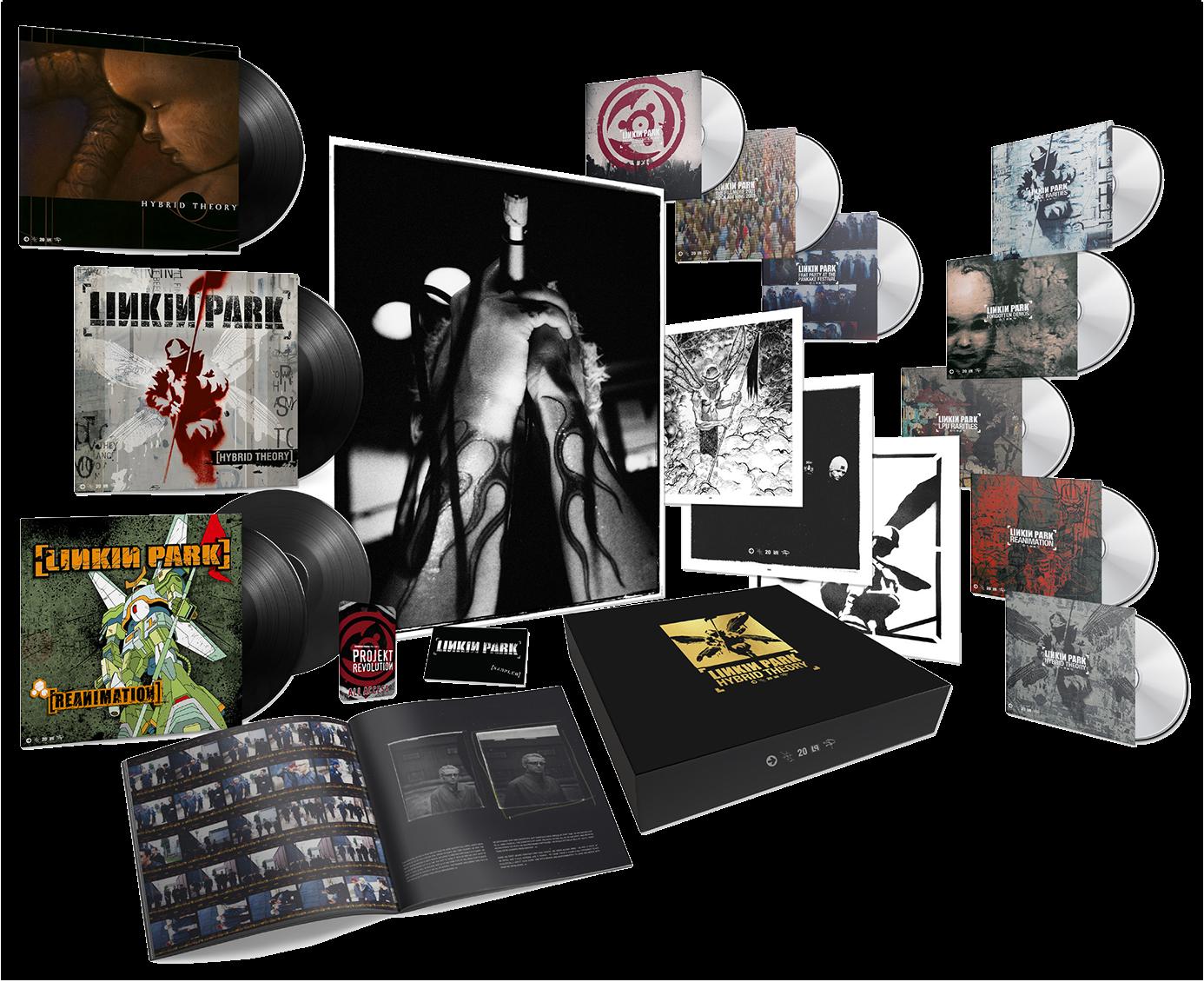 Linkin Park - Hybrid Theory (20th Anniversary Super Deluxe) Boxset