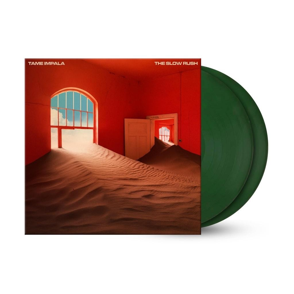 Tame Impala - Slow Rush (Forest Green) 2XLP