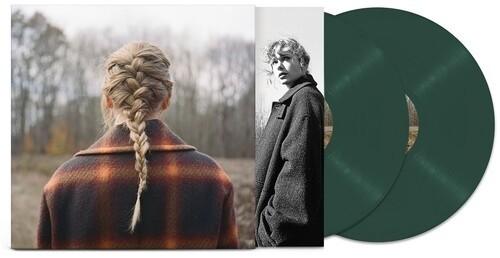 Taylor Swift - Evermore (Green) 2XLP Vinyl