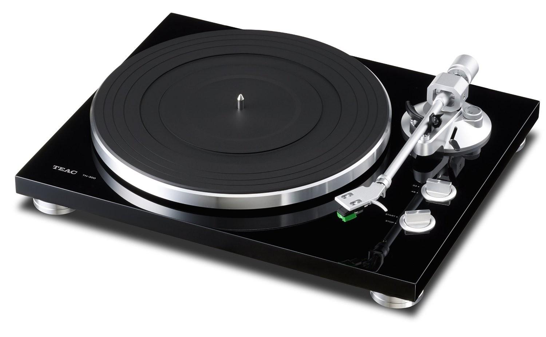 TEAC TN-300-B Belt-Drive Analog Turntable (Black)