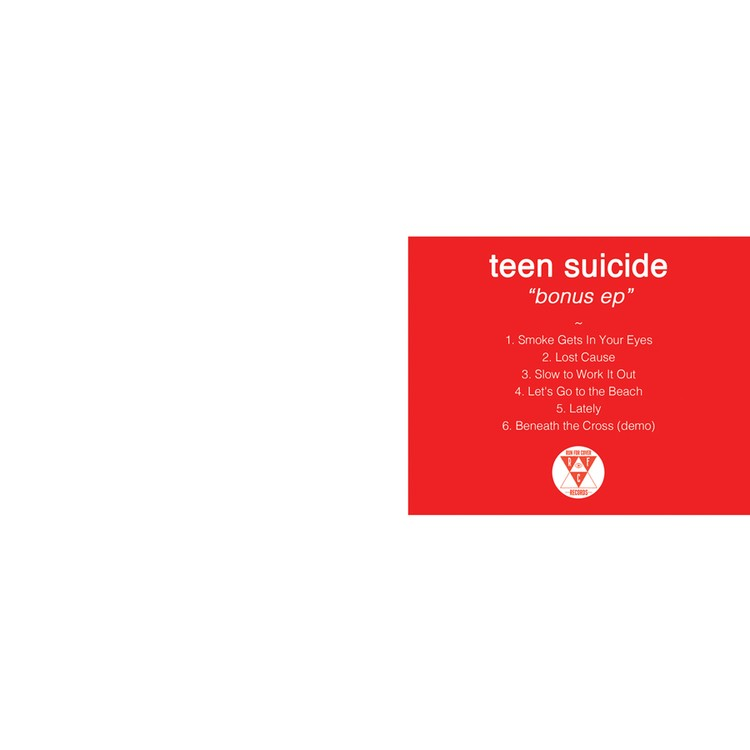 Teen Suicide - Bonus EP LP