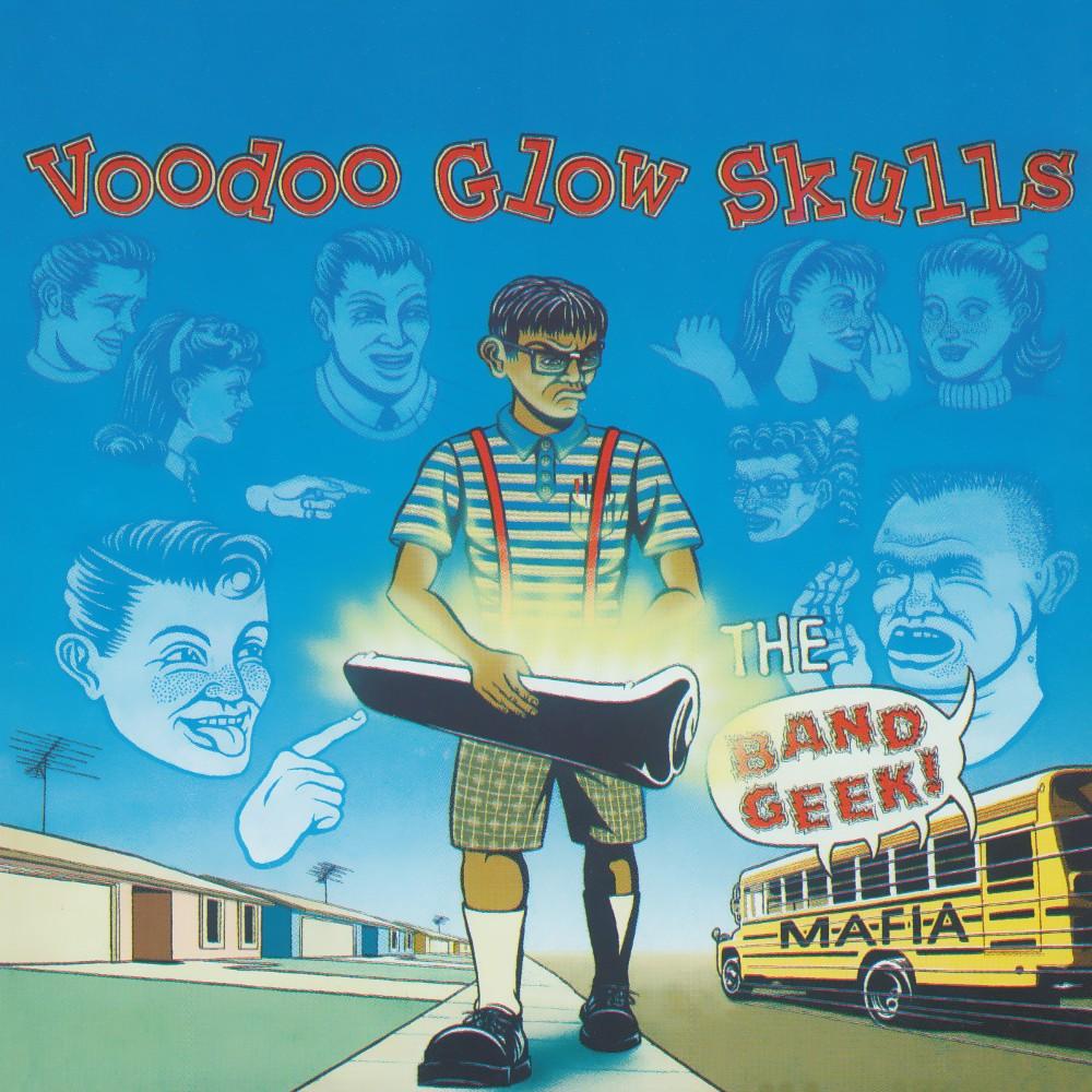 Voodoo Glow Skulls - The Band Geek Mafia (Orange Vinyl) Vinyl LP