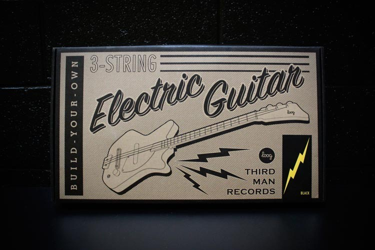 Little Third Man Electric Guitar - BLACK