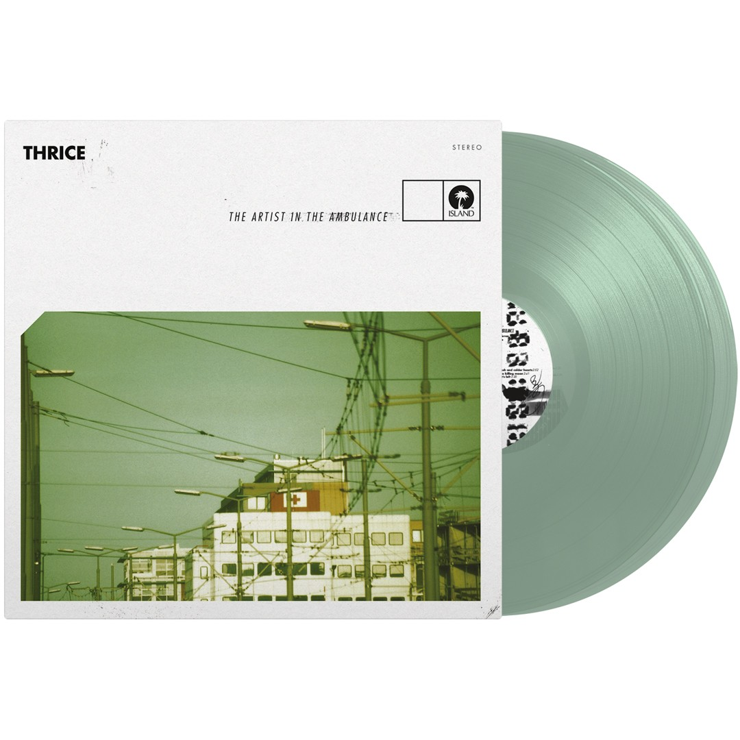 Thrice - The Artist In The Ambulance (Coke Bottle Clear) 2XLP