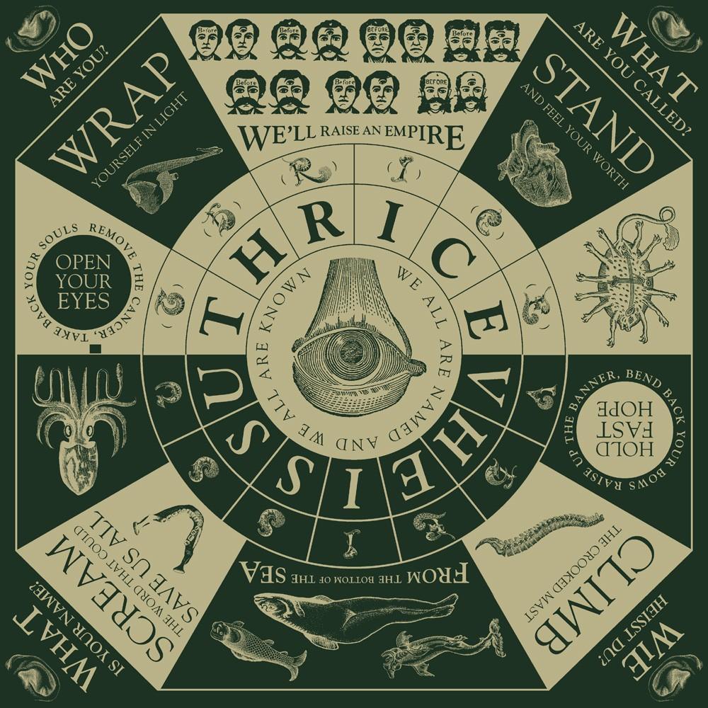 Thrice Vheissu Clear Vinyl 2XLP