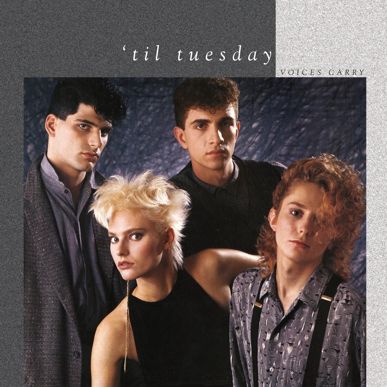 'Til Tuesday - Voices Carry (White Smoke) LP