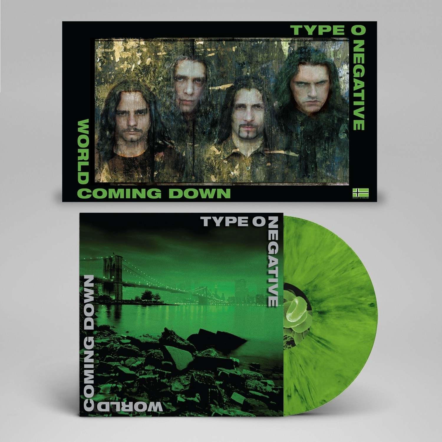 Type O Negative - World Coming Down Vinyl