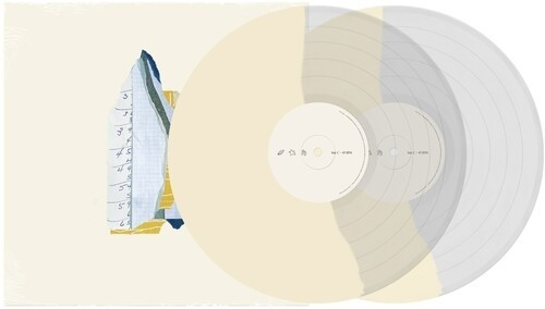 Into It. Over It. - Figure (Clear/Cream/Grey) 2XLP Vinyl