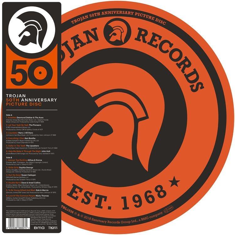 Various Artists - Trojan 50th Anniversary (Picture Disc) Vinyl LP