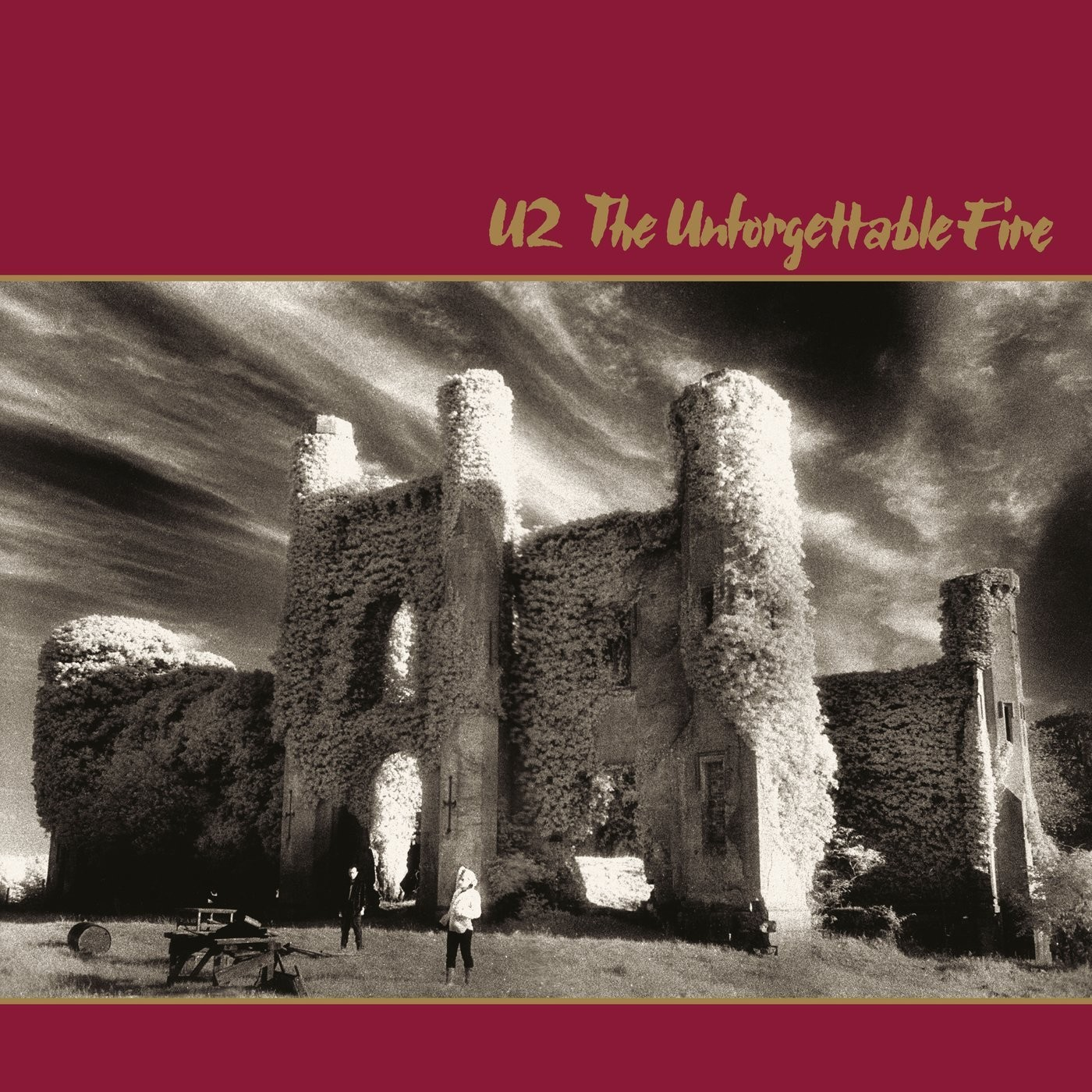 U2 - The Unforgettable Fire Vinyl LP