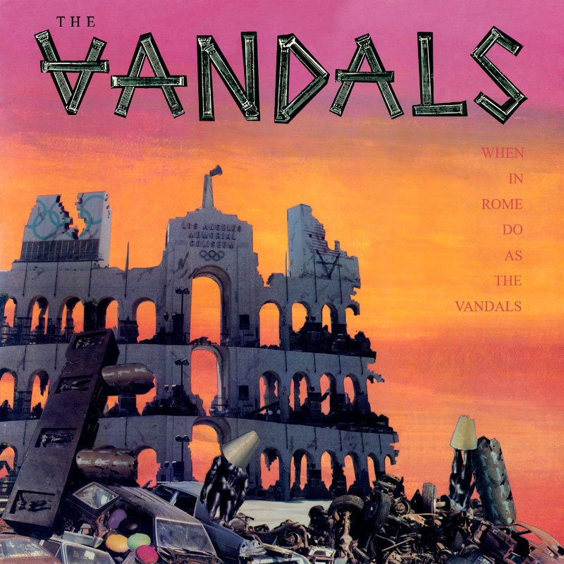 The Vandals - When In Rome Do As The Vandals (Yellow) Vinyl LP
