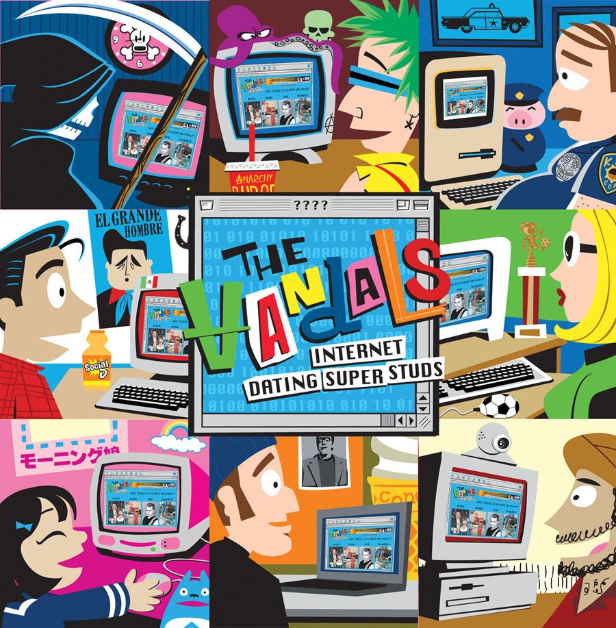 The Vandals - Internet Dating LP