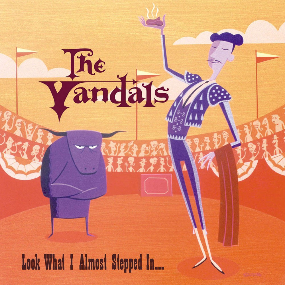 The Vandals - Look What I Almost Stepped In LP