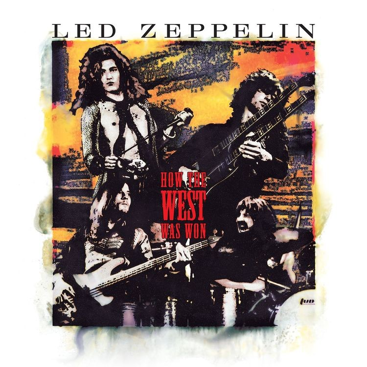 Led Zeppelin - How The West Was Won 4XLP Vinyl
