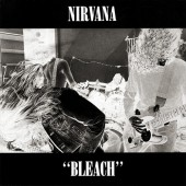 Nirvana - Bleach (Red/Black Swirl) LP