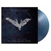 Hans Zimmer - Dark Knight Rises (Blue/Red Marble) Vinyl LP
