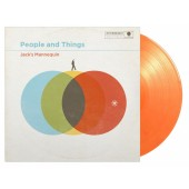Jack's Mannequin - People & Things (Orange) Vinyl LP