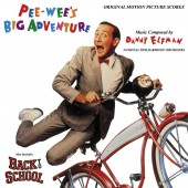 Danny Elfman - Pee-wee's Big Adventure / Back to School (Score) 2XLP vinyl