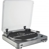 Audio Technica AT-LP60-USB Turntable - Silver