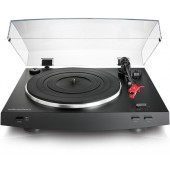 Audio Technica AT-LP3BK Automatic Belt Drive Turntable (Black)