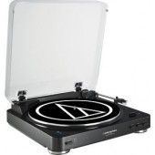 Audio Technica At-LP60Bk-BtT Bluetooth - Black