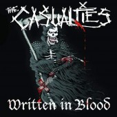 The Casualties - Written In Blood Vinyl LP